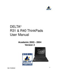 To view the document Delta THINKPAD R40 User Manual